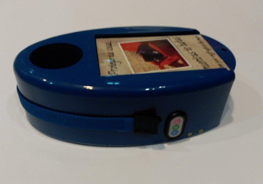 caja para la playa con alarma